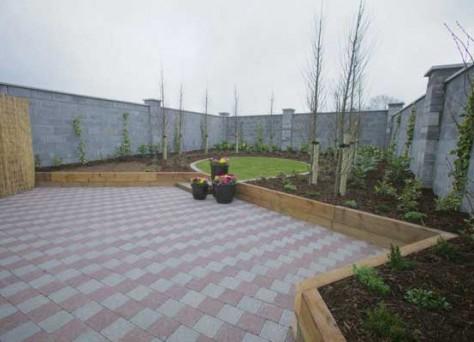 Castlestone cobblelock patio